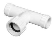 "3/4"" MHT x 3/4"" Swivel Tee PVC Hose Fitting (501-007)"