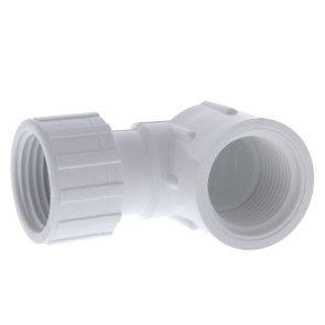 """3/4"""" FHT x 3/4"""" FIPT PVC Hose Elbow (508-007)"""