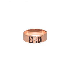 """1"""" Brass PEX Crimp Ring"""