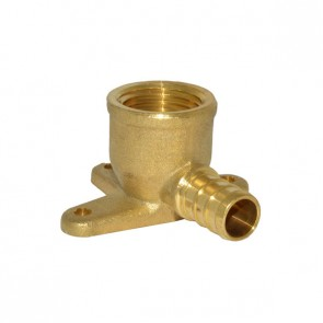 "1/2"" PEX Barb x 1/2"" FPT Drop-Ear Elbow Adapter"