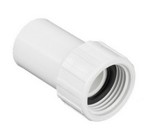 "3/4"" FHT Swivel x 5/8"" IPS Spig PVC Hose Adapter (535-006)"