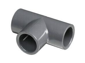"1/4"" Schedule 80 PVC Tee - Socket (801-002)"