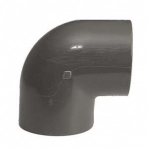 """1/4"""" Schedule 80 PVC Elbow - Socket (806-002)"""