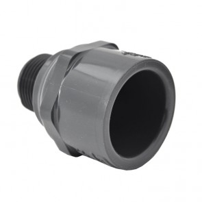 Schedule 80 PVC Male Adapter