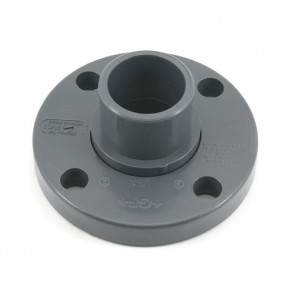 "1-1/2"" Sch 80 PVC Van Stone Spigot Flange 856-015"