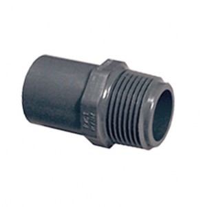 """3/4"""" Sch 80 PVC Male Adapter SPG x MPT 861-007"""