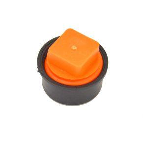 "1-1/2"" IPS Test-Tite Sch 40 DWV T-Cone Combo Cleanout Test Plug"