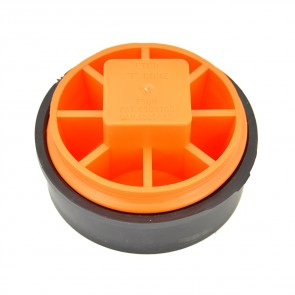 "4"" IPS Test-Tite Sch 40 DWV T-Cone Combo Cleanout Test Plug"