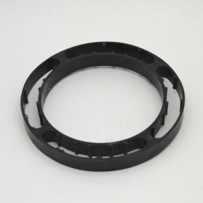 pvc closet flange spacer ring black