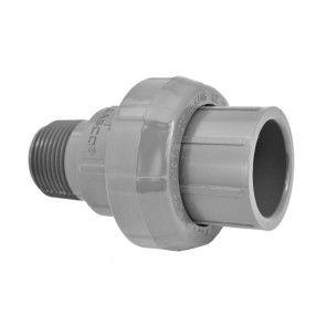 "1"" Sch 80 PVC Union (Slip x MIPT) 896-010"