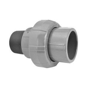 "1-1/4"" Sch 80 PVC Union (Slip x MIPT) 896-012"