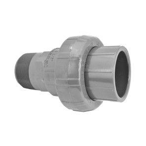 "1-1/2"" Sch 80 PVC Union (Slip x MIPT) 896-015"
