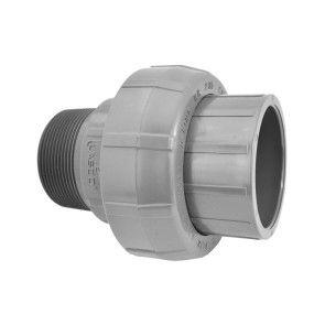 "2"" Sch 80 PVC Union (Slip x MIPT) 896-020"