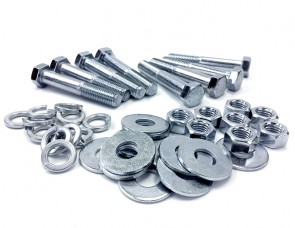 "Zinc Bolt Kit for 4"" PVC or CPVC Flanges"