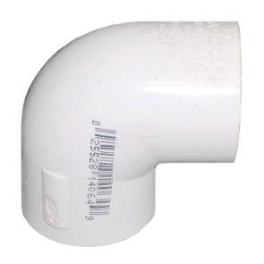 "2"" Sch 40 PVC 90 Elbow Soc 406-020"