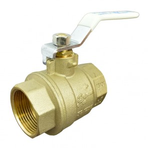 "1-1/4"" Apollo Brass Ball Valve - Threaded (94ALF-106-01A)"