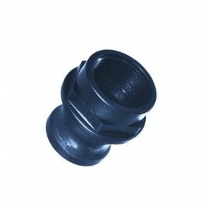 """150F 1-1//2/""""  POLYPROPYLENE CAM /& GROOVE CAMLOCK FITTING POLY"""
