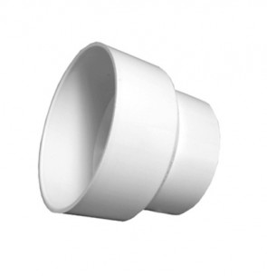 "4"" x 3"" DWV PVC Adapter Coupling D117-422"