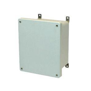 AM1084 10x8x4 NEMA 4X Fiberglass Enclosure Lift-Off Screw Cover