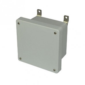 AM664 6x6x4 NEMA 4X Fiberglass Enclosure w/ Lift-Off Screw Cover