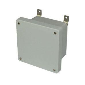 AM664 6x6x4 NEMA 4X Fiberglass Enclosure w/ Lift-Off Screw Cover