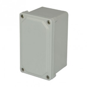 AM743SF 7x4x3 NEMA 4X JUNC Fiberglass Enclosure w/ Lift-Off Screw Cover