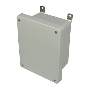 AM864 8x6x4 NEMA 4X Fiberglass Enclosure w/ Lift-Off Screw Cover