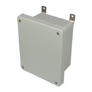 AM864 8x6x4 NEMA 4X Fiberglass Enclosure w/ Lift-Off Screw Cover