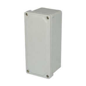 AM943SF 9x4x3 NEMA 4X JUNC Fiberglass Enclosure w/ Lift-Off Screw Cover