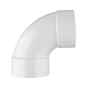 """1-1/2"""" DWV PVC 1/4 Bend D300-015"""