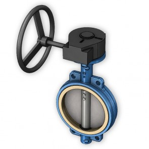 Cast Iron Gear Operated Butterfly Valve