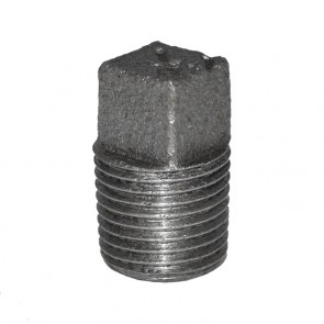 "1/8"" Black Malleable Iron Plug"