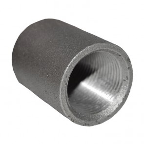 "3/4"" Black Malleable Iron Merchant Coupling"