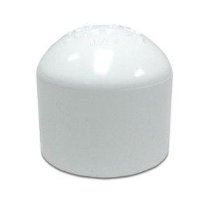 """1-1/4"""" Sch 40 PVC Cap Soc 447-012"""