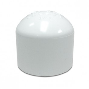 """2-1/2"""" Sch 40 PVC Cap - Socket 447-025"""