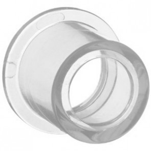 "3/4"" x 1/2"" Clear PVC Reducer Bushing 437-101L"