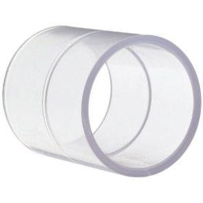 "2"" Clear PVC External Coupling (DC-CO-020)"