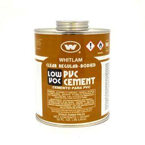 Whitlam Low VOC PVC Clear Regular Bodied Cement