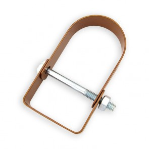 """1-1/2"""" Copper Epoxy Light Duty Clevis Hanger (4400-0150PC)"""