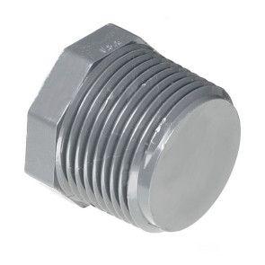 """1-1/2"""" Schedule 80 CPVC MPT Plug 9850-015"""