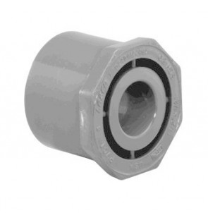 "1/2"" x 3/8"" Schedule 80 Reducer Bushing (Spg x S) 9837-073"