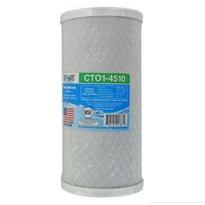 "Neo-Pure 5 Micron Carbon Block Filter - 4.5"" x 10"" 5 Micron (CTO1-4510)"