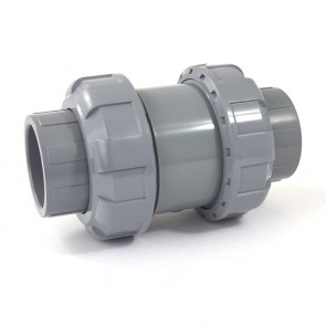 "1-1/4"" CPVC True Union Ball Check Valve"