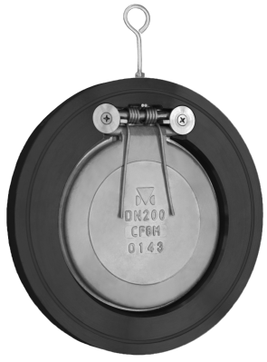 "6"" Titan Carbon Steel Swing Check Valve - Wafer Style (CV12C0600)"