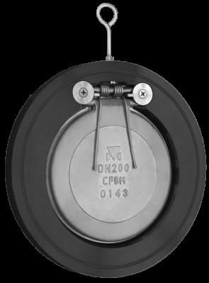 "8"" Titan Carbon Steel Swing Check Valve - Wafer Style (CV12C0800)"