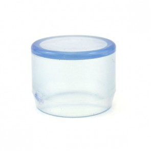 "3/4"" Clear PVC End Cap (DC-EC-007)"
