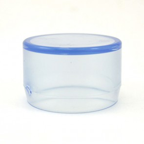 1-1/4 inch PVC End Cap - Clear