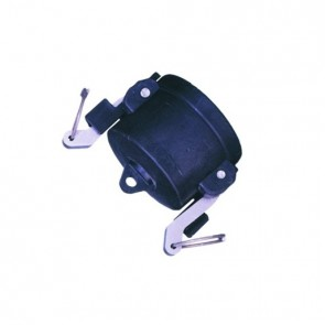 "1"" Polypropylene Camlock Dust Cap - Female Coupler Connection (100125CAP)"