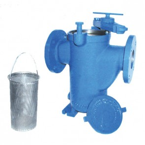 """1-1/4"""" Model 72 Simplex Strainer - Carbon Steel, Flanged 150# RF (ST072012BR30A)"""