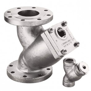 "1-1/4"" Model 85 Y-Strainer - Stainless Steel, Socket 600# (SY085012ES20A)"